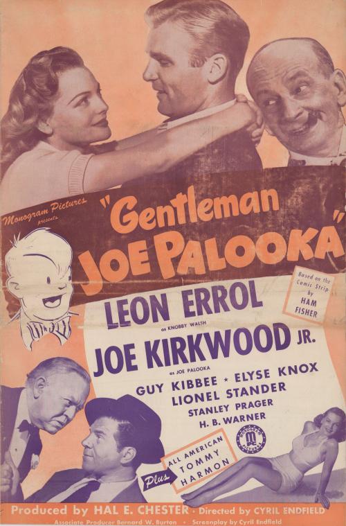 Gentleman Joe Palooka Pressbook01