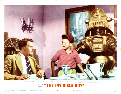 Invisible Boy Title Lobby Card 4