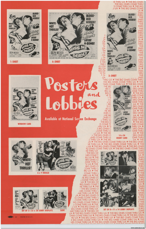 Kiss Me Deadly (1955) Pressbook 010