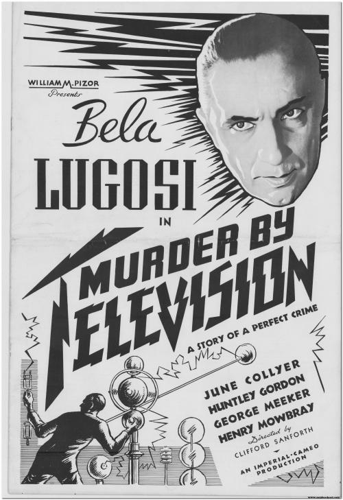 Murder by Television Pressbook 1