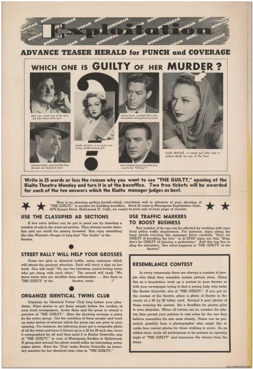 The Guilty Pressbook 09