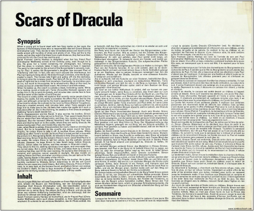 Scars of Dracula  Pressbook001