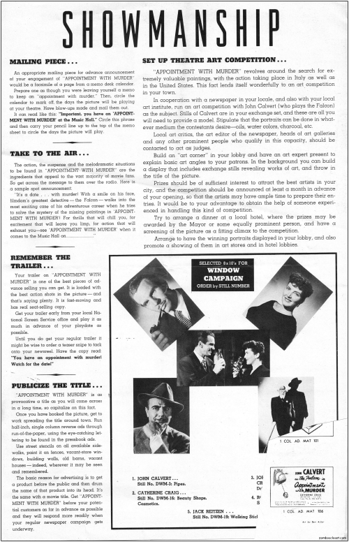 Appointment with Murder Pressbook_000001