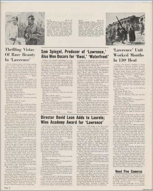 Lawrence of Arabia Pressbook001