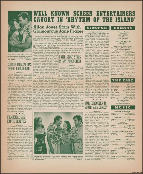 Rythm of the Islands  Pressbook001