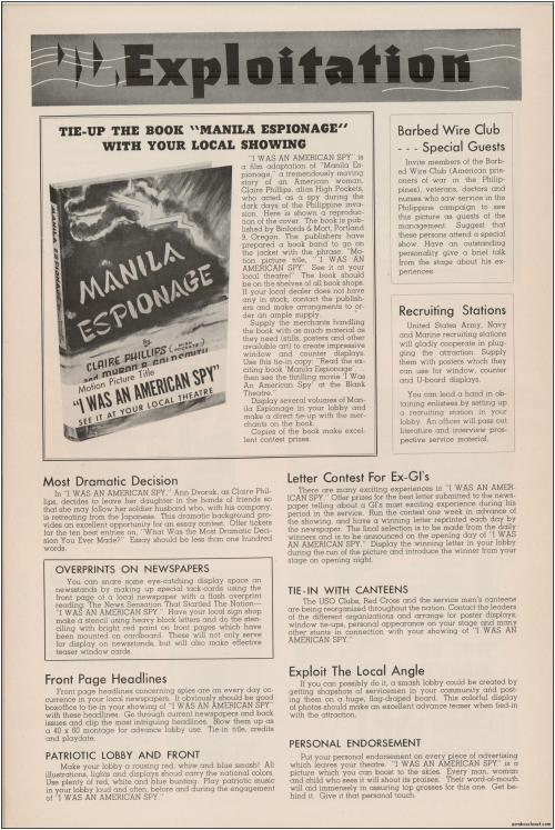 I Was an American Spy Pressbook09