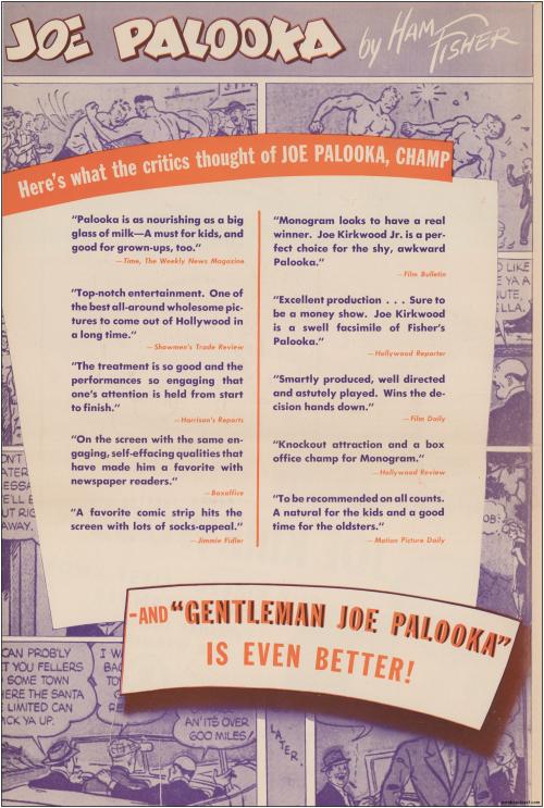 Gentleman Joe Palooka Pressbook03