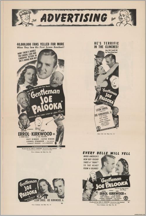 Gentleman Joe Palooka Pressbook06
