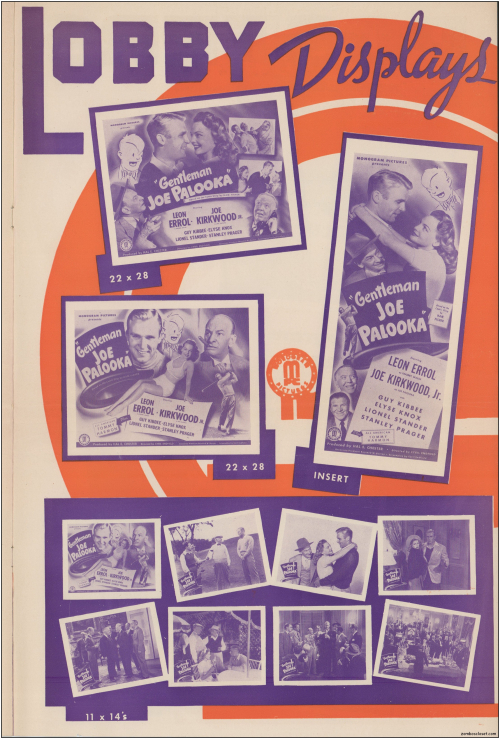 Gentleman Joe Palooka Pressbook12