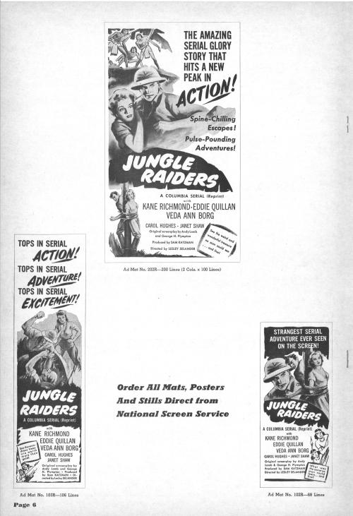 Jungle Raiders Pressbook01