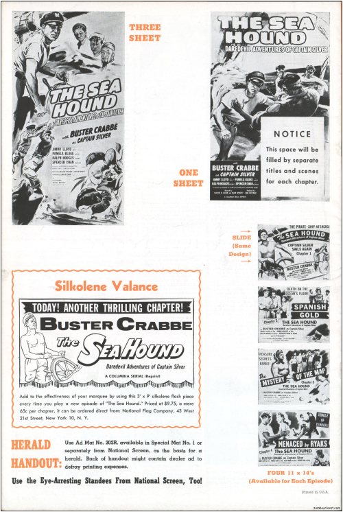 The Sea Hound Pressbook01