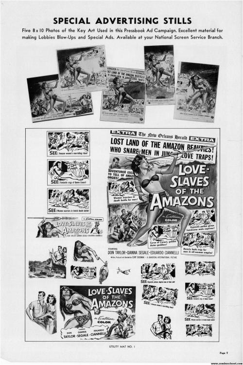 Slaves of the Amazon Pressbook 01