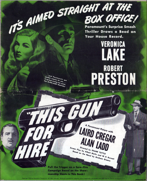 This Gun For Hire Pressbook 01