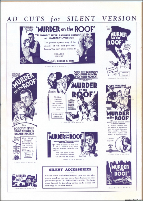 Murder on the Roof Pressbook 09