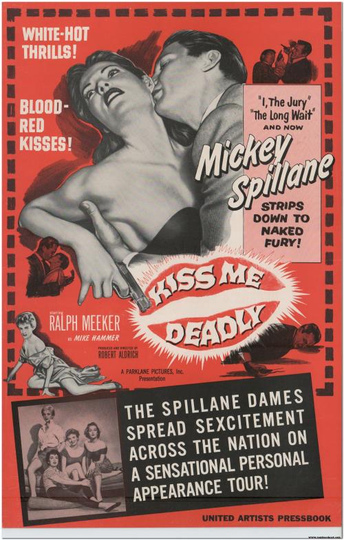 Kiss Me Deadly (1955) Pressbook 01