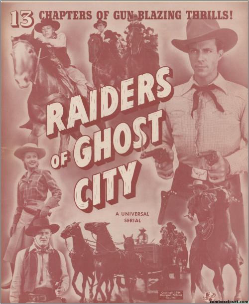 Raiders of Ghost City Pressbook001