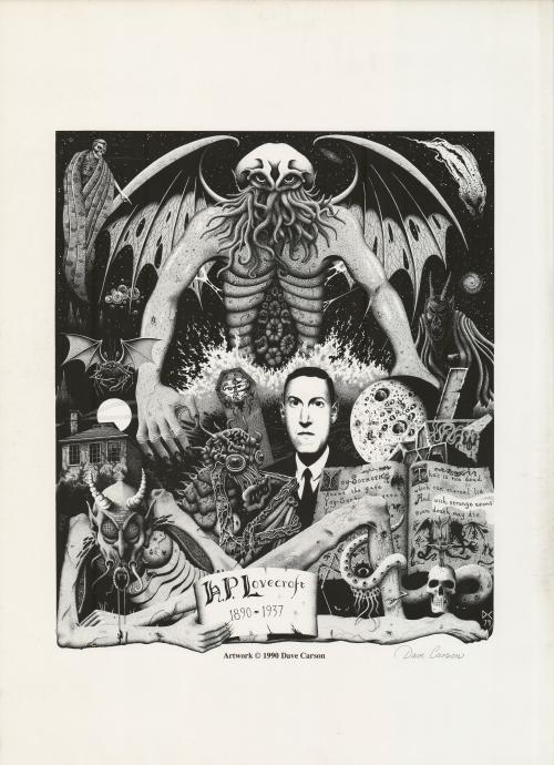 Dave Carson Lovecraft Print