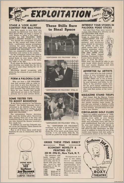 Gentleman Joe Palooka Pressbook05