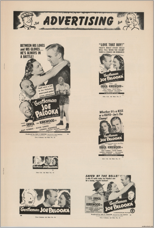 Gentleman Joe Palooka Pressbook08