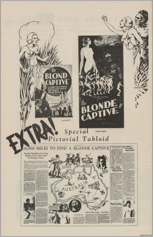 The Blonde Captive Pressbook01