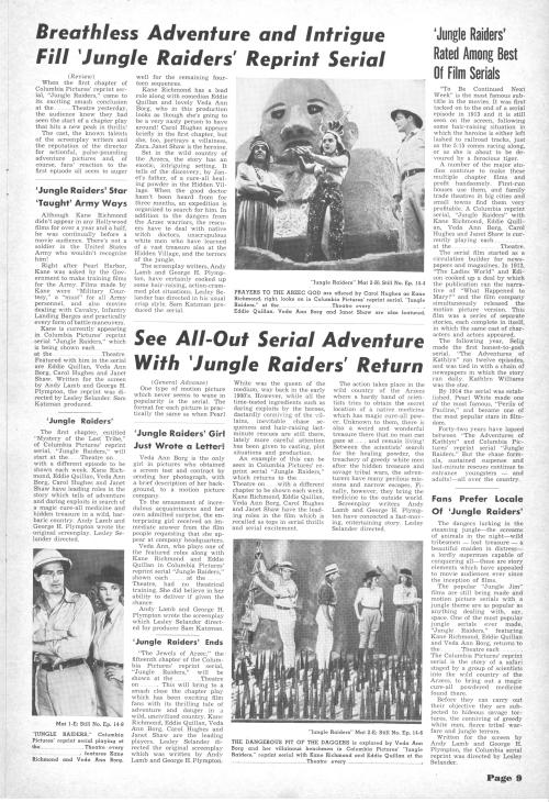 Jungle Raiders Pressbook09