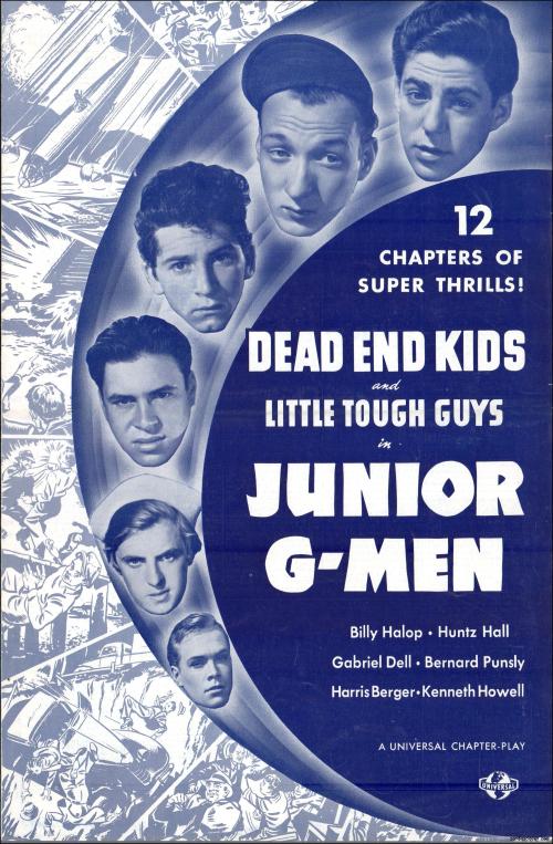Junior G-Men Pressbook 01