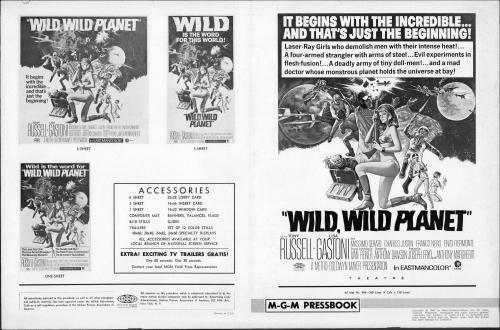 Wild  Wild Planet Pressbook 01
