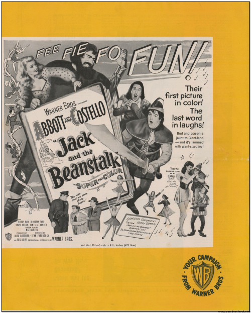 Abbott and Costello Jack and the Beanstalk 01